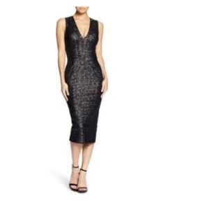 NWT- DRESS THE POPULATION Rani Sequin Dress